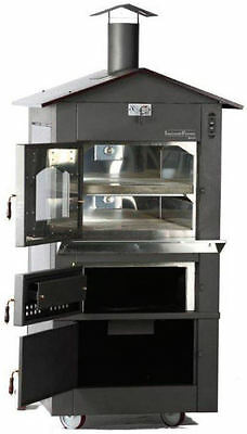 Incendiforno Wo-it-0620-l Italian Wood-burning Pizza Oven Stove Wroof Large