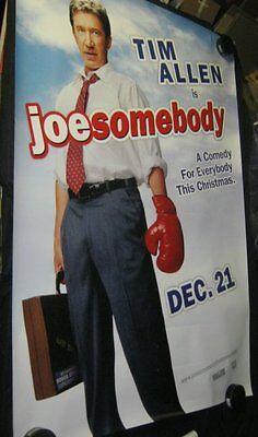 "Original D/S JOE SOMEBODY 48"" X 70"" Bus Shelter TIM ALLEN James Belushi"
