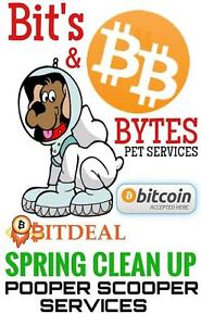 Pooper Scooper & Dog Waste SpringCleanUp Cryptocurrency Accepted