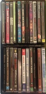 Music DVDS Various Artists -  $2.27 Per DVD Rothwell Redcliffe Area Preview