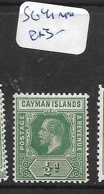 CAYMAN ISLANDS (PP2002B) KGV 1/2D SG 41  MNH