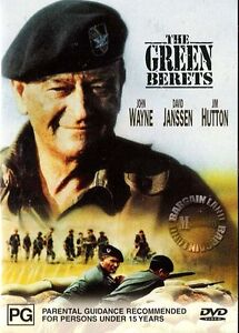 THE GREEN BERETS = NEW R4 DVD = John Wayne