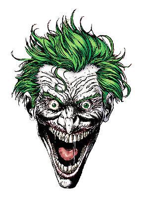 Aufkleber Sticker The Joker Dark Knight Arkham Bad Evil Clown  ()