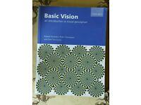 Basic Vision - An Introduction to Visual Perception by Snowdon, Thompson & Troscianko