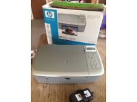 HP PSC1610 printer, scanned, copier