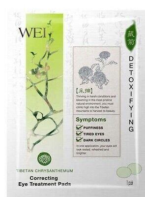 WEI Tibetan Chrysanthemum Correcting Eye Treatment Pads