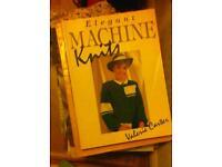 Machine knitting books about 50 hardback