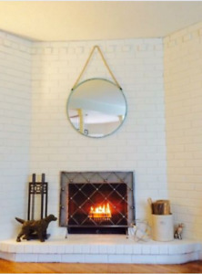 Restoration Hardware Fireplace Screen As New