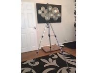 TRIPOD FOR A CAMERA - LIGHTWEIGHT - ADJUSTABLE HEIGHT 5.5FT TALL