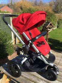 Quinny Pushchair in Red-Quick Sale