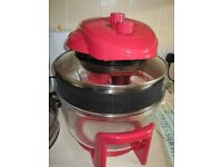 Kitchen M8 KM805 Halogen Oven 17 Litre Red