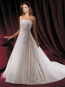 Never worn, never altered, Demetrios Wedding Dress
