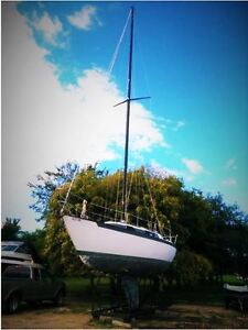 UP FOR ONLINE AUCTON: 1981 Martin Fast Cruiser 32' Sail Boat