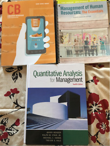 Second Year Business Textbooks For Sale! Excellent Condition!