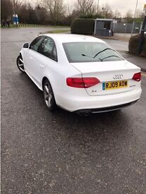 Audi A4 S line. 2 litre TDI June 2009 for Sale . Fully Electric.