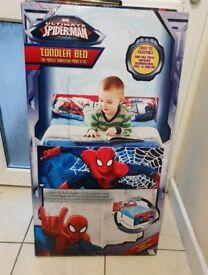 Spider man toddler bed