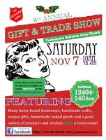 GIFT & TRADE SHOW - NOV 7/15 - 10 to 4pm -Looking for Vendors