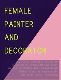 Female Painter & Decorator