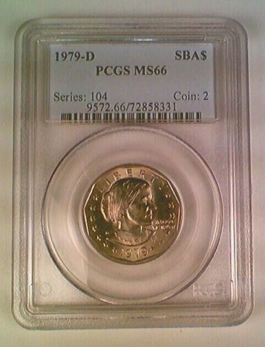 1979-D Susan B. Anthony Dollar PCGS MS66