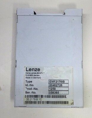 Lenze Can Repeater Module, EMF2176IB, Typ# EF037/3A, Used, Warranty