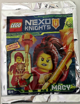 LEGO Nexo Knights Macy  polybag Minifigure Limited Edition