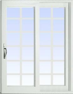 Patio Doors - Sunview Newcastle 2 Panel Vinyl Patio Doors - We have a large selection of doors!!