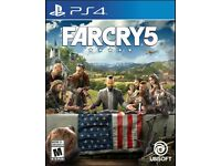 PS4 Far Cry 5 for sale