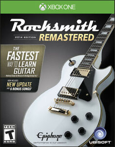 Looking for Rocksmith 2014 Remastered with cable for XBOX One