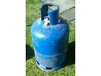 Calor 15kg and 4.5kg Patio Gas Bottles.Empty. Ideal as replacement for full bottle