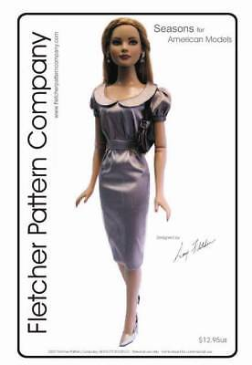 Seasons Doll Clothes Sewing Pattern for American Model Tonner