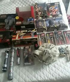 huge collection of vintage toys star wars power rangers action man hotwheels wrestling and many more