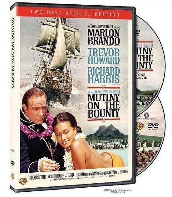 MUTINY ON THE BOUNTY Marlon Brando (2 DVD EDITION) New UK COMPATIBLE + Extras