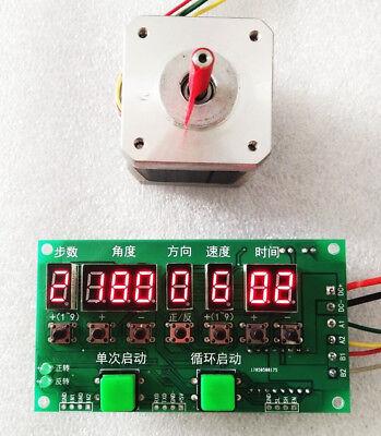 Stepper Motor Driver Controller Angledirectionspeedtime Programmable 8-27v