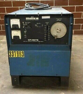 Miller Welder Cp-250ts Mig Constant Voltage Dc Arc Welding Power Source