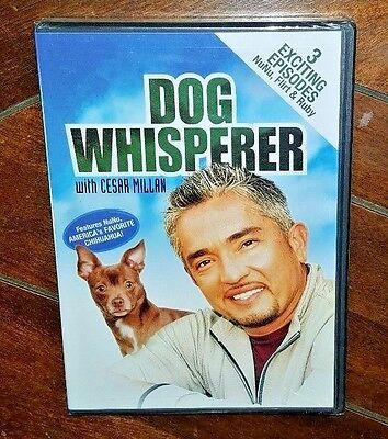 Dog Whisperer w/ Cesar Millan (DVD, 2004) Free Shipping!
