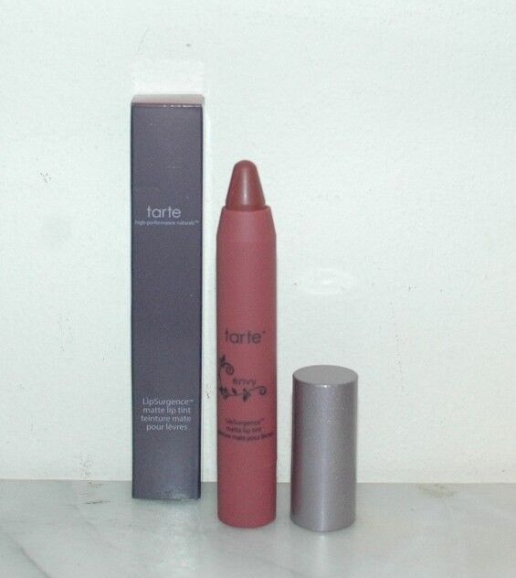 Tarte LipSurgence™ Matte Lip Tint Full Size Lucky Exposed Lively Fiery Hope Envy
