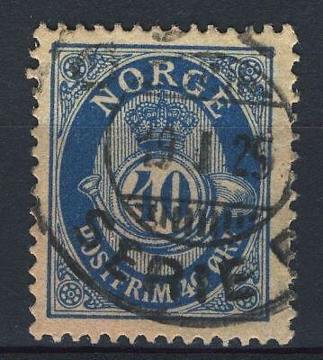 Oslo-serie (Norway 1920-29, NK 125 Son Oslo Serie B 19-1-1925 (Grade 3))