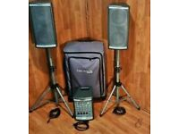 KUSTOM PROFILE 200 PA SYSTEM WITH MIXER/AMP....Offers Considered