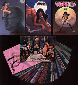 VAMPIRELLA - Visions of Vampirella - 90 Card Set- FREE US Priority Mail Shipping