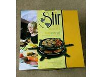 'Stir' Swiss party grill