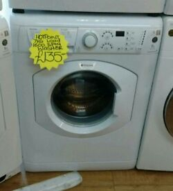 HOTPOINT 7KG LOAD 1400 SPIN WASHING MACHINE