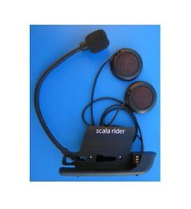 Cardo Scala Rider Solo/Team BT Klemm Halter Audio Kit Mikrofon für G4+G9 Modelle