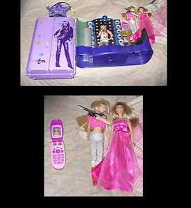 Hannah Montana toy And doll's lout