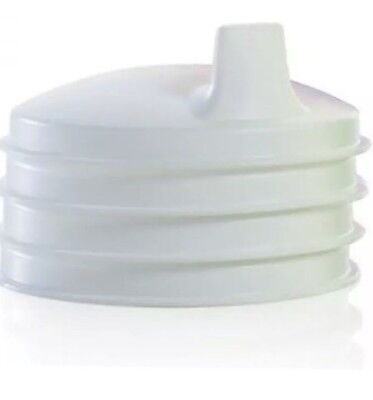 Tupperware Set of 4 Sip Sippy Seals For 7 Oz Bell Tumblers Domed Sipper Lids