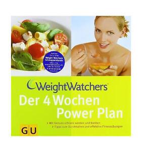 Weight Watchers 4 Wochen Power Plan - Ernährung Gesundheit Fitness Abnehmen