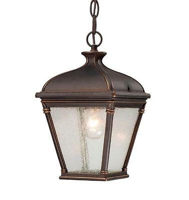 Bronze Outdoor Hanging Lantern - Malford Dark Rubbed Bronze Outdoor Hanging Lantern