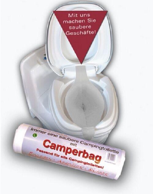 WC Camperbag 100 Stück Einlage Rolle Toilette Camping… |