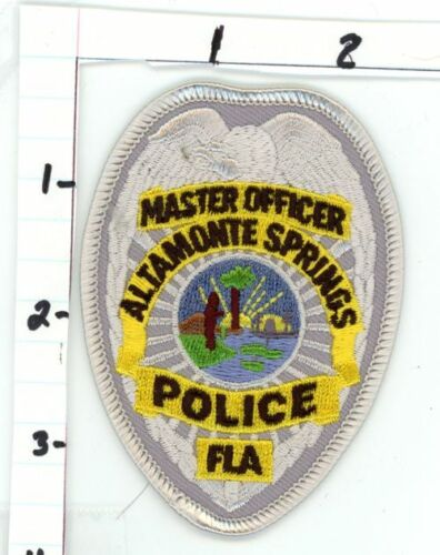ALTAMONTE SPRINGS FLORIDA FL POLICE MASTER OFFICER NEW COLORFUL PATCH SHERIFF