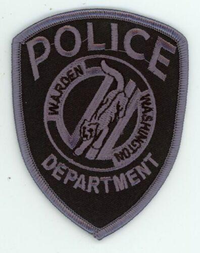 WARDEN POLICE WASHINGTON WA SWAT SUBDUED 3 1/2 INCHES SHERIFF