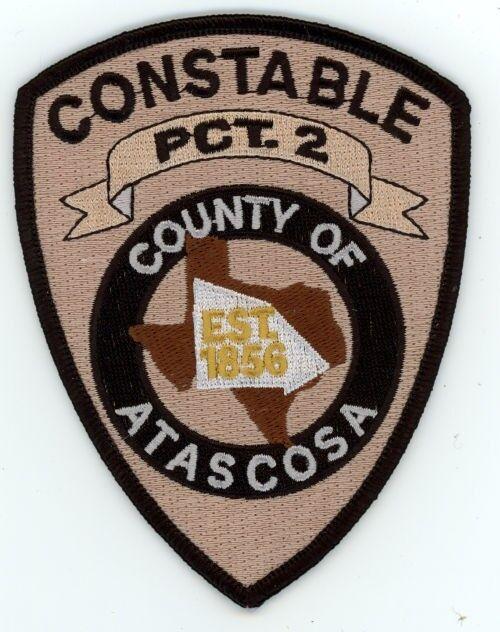 ATASCOSA COUNTY CONSTABLE PRECINCT 2 TWO TEXAS POLICE SHERIFF PATCH